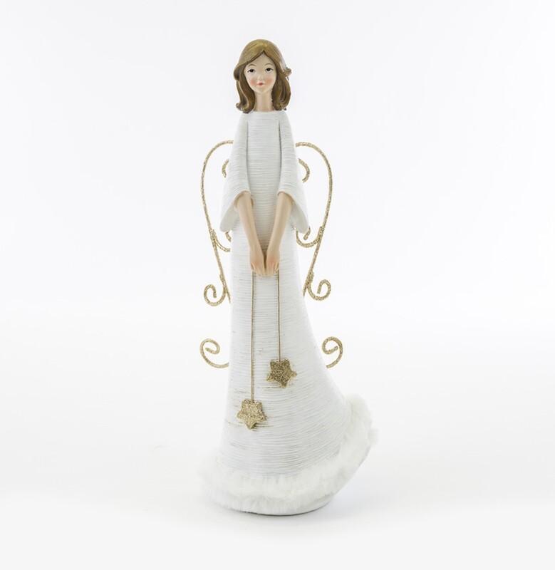 Bomboniera natalizia angelo bianco Pz. 1