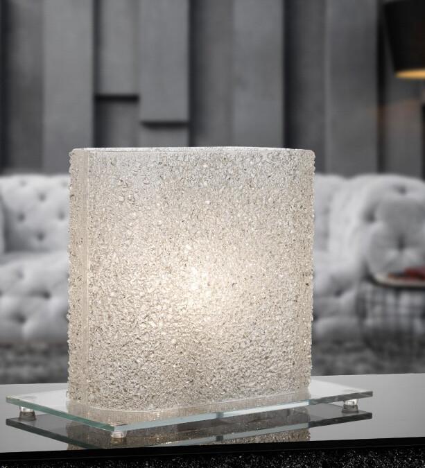 Lampada cristalli ghiaccio Pz. 1