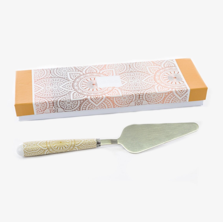 Bomboniera paletta per torta mandala Pz. 1