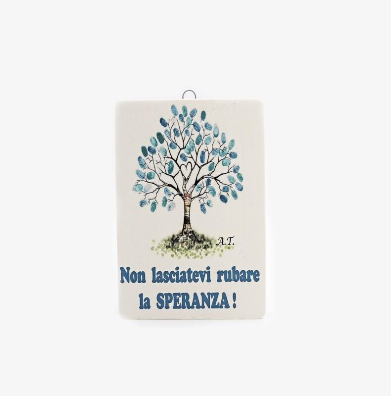 Bomboniera quadretto albero della vita Pz. 1