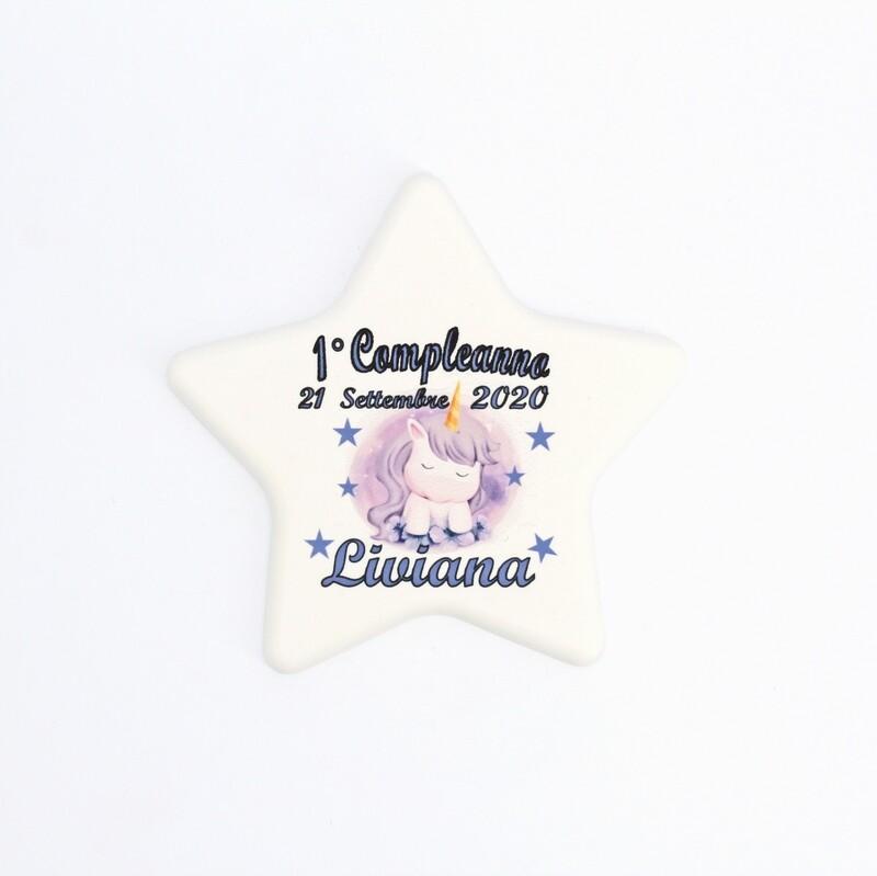 Bomboniera stella personalizzabile Pz. 1