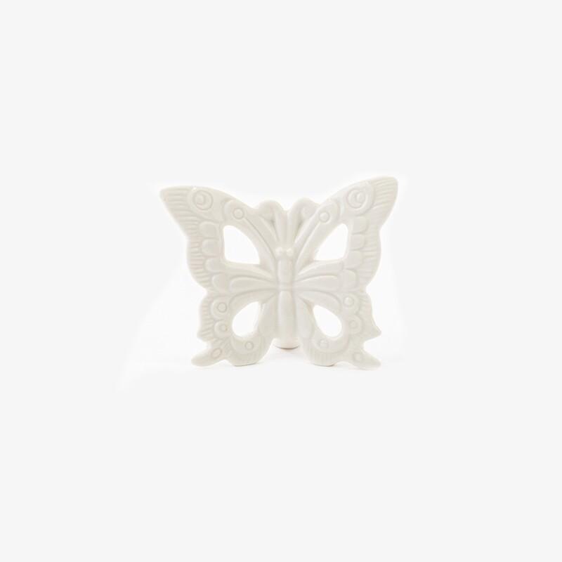 Bomboniera farfalla piccola bianca Pz. 6