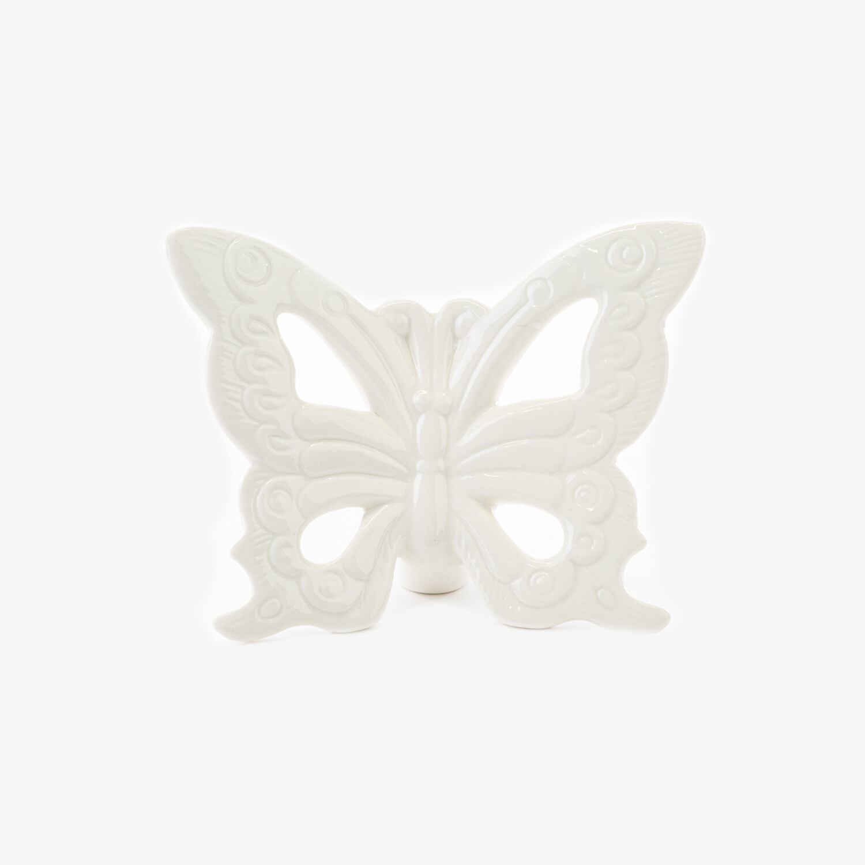 Bomboniera farfalla grande bianca Pz. 4