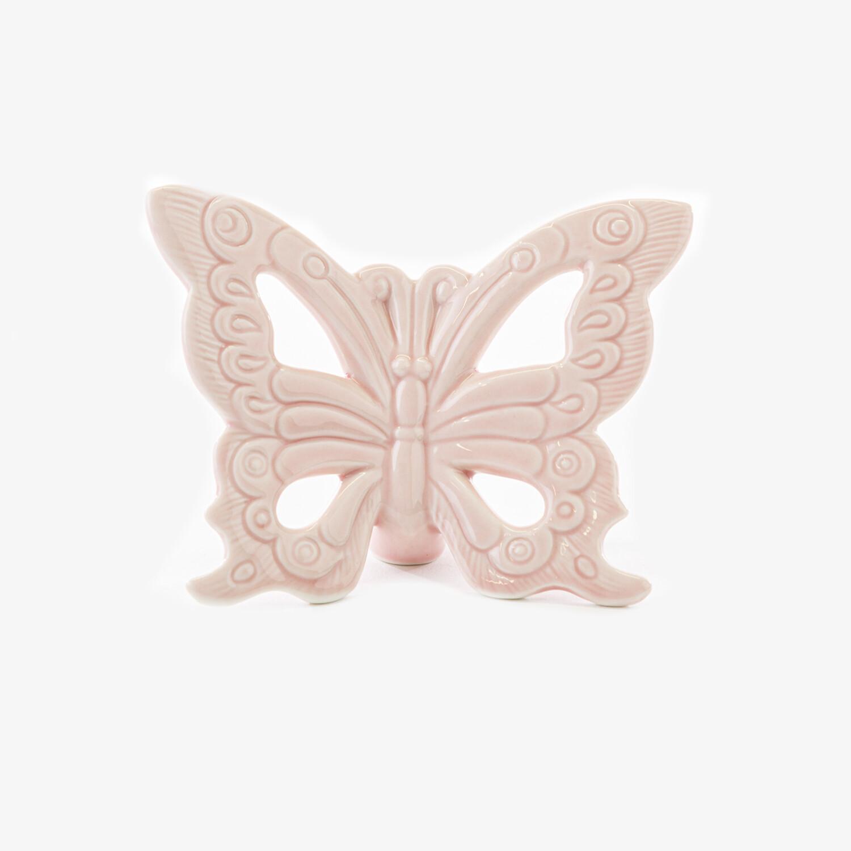 Bomboniera farfalla grande rosa Pz. 4