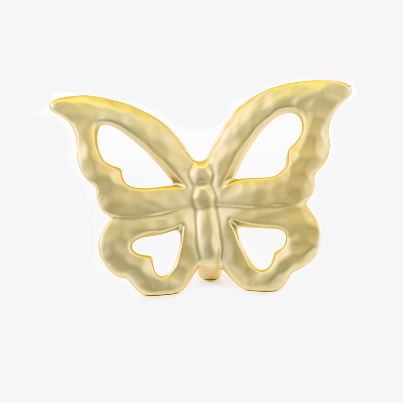 Bomboniera farfalla grande colore oro Pz. 1