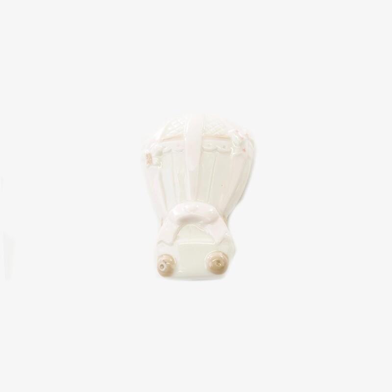 Bomboniera con calamita mongolfiera rosa Pz. 12