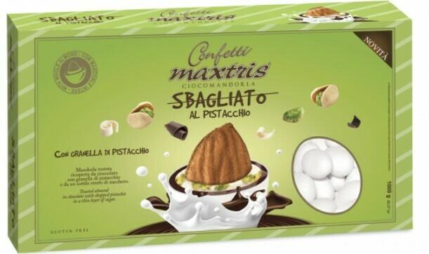 Maxtris sbagliato bianco al pistacchio