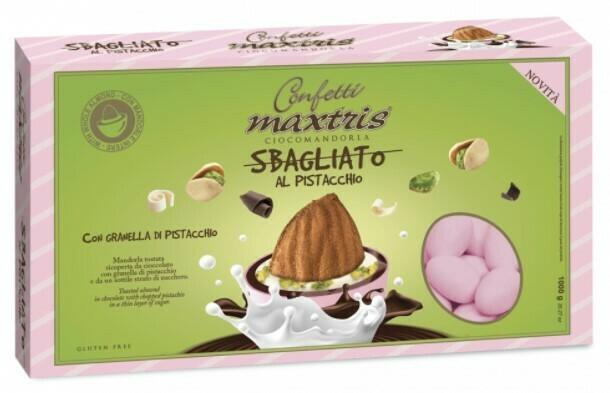 Maxtris sbagliato rosa al pistacchio