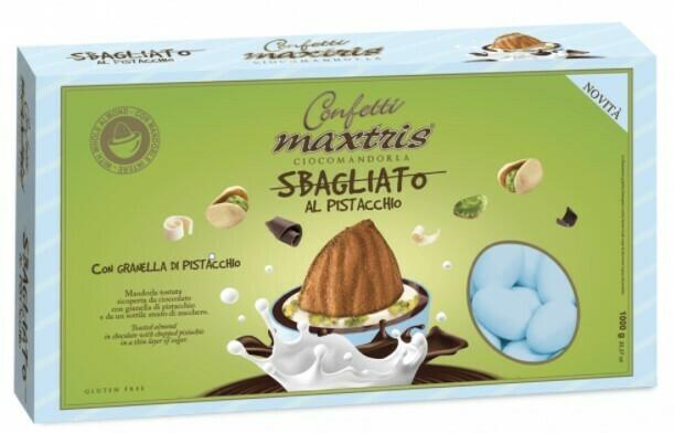 Maxtris sbagliato azzurro al pistacchio