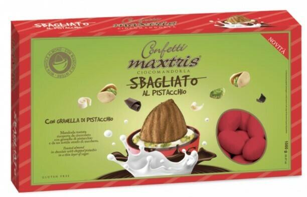 Maxtris sbagliato rosso al pistacchio