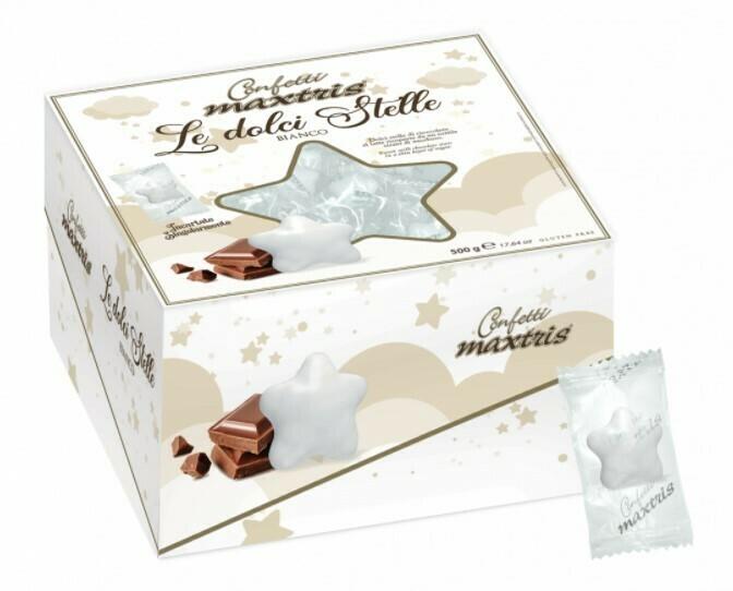 Maxtris le dolci stelle bianco gr. 500