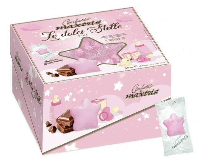 Maxtris le dolci stelle rosa 500 grammi