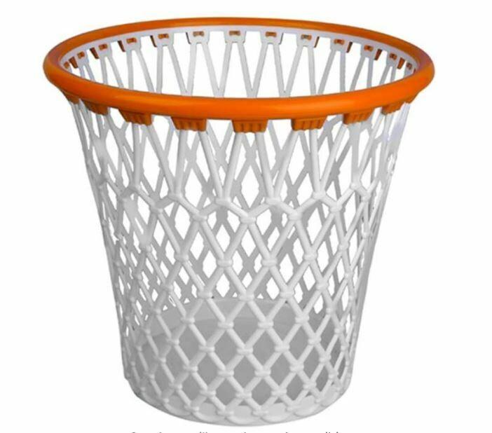 Excelsa Pusher Jordan The Basket Cestino Canestro Bianco