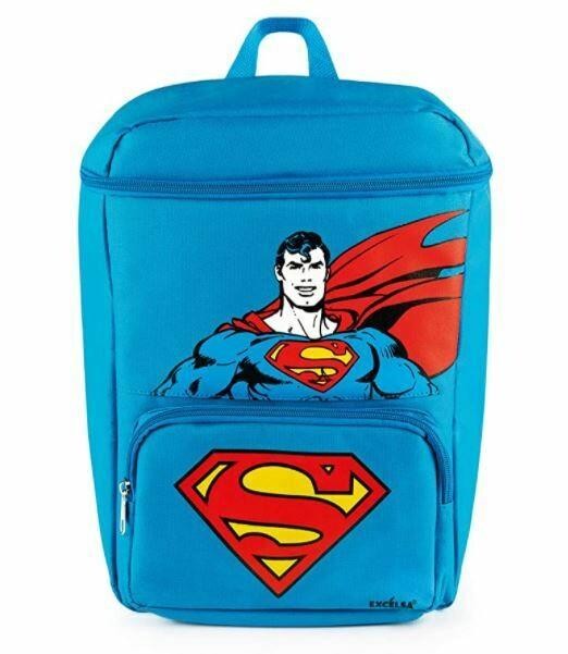 Excelsa Superman Zaino Termico Azzurro