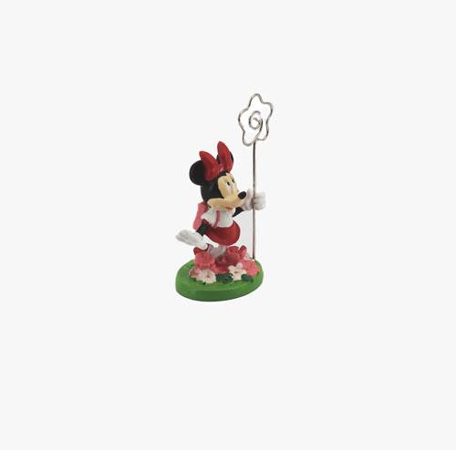 Bomboniera Disney Segnaposto Minnie Con Fiori Pz. 1