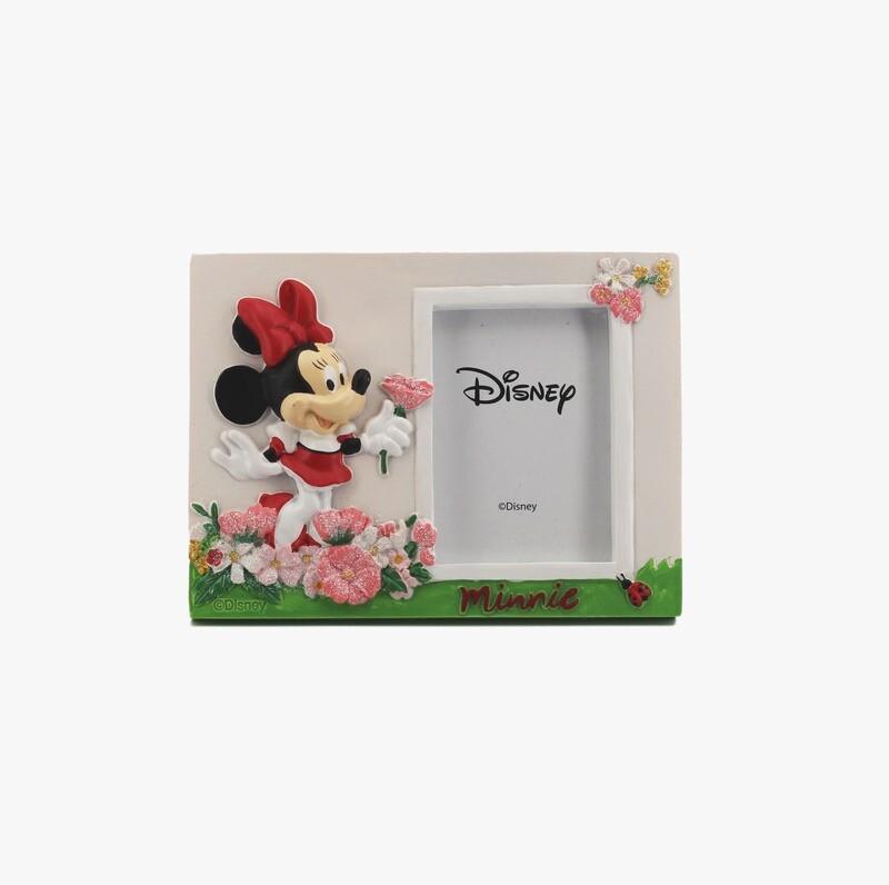 Bomboniera Disney Portafoto Minnie Con Fiori Pz.1
