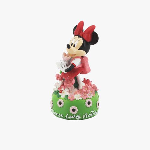 Bomboniera Disney Lampada Minnie Con Fiori Pz. 1