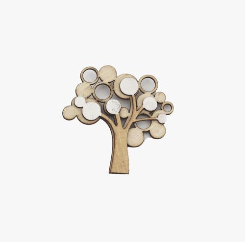 Applicazione Magnete Tree Life Pz. 24