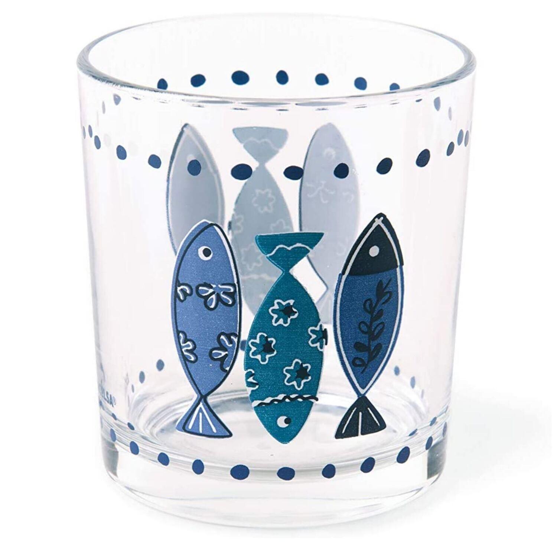 Excelsa Ocean Set 3 Bicchieri acqua in vetro