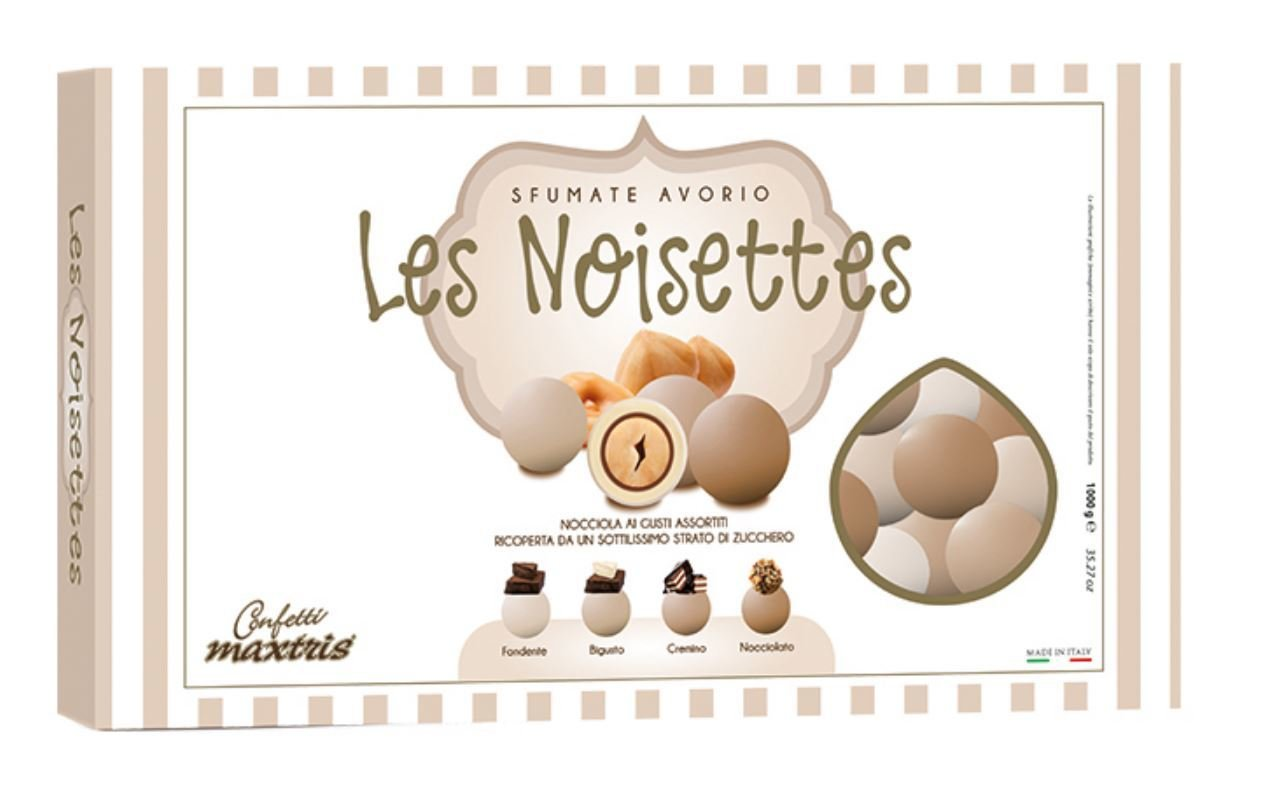 Maxtris Les Noisettes Sfumate avorio