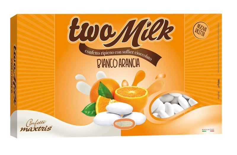 Maxtris Two Milk Bianco Arancio