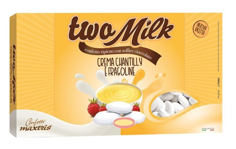 Maxtris Two Milk Crema Chantilly E Fragoline