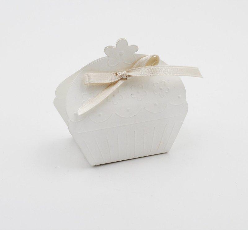 Scatolo cup cake white confezioni da pz. 10