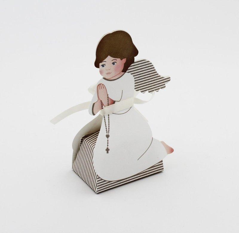 Scatolo angelo in ginocchio confezioni da pz. 10