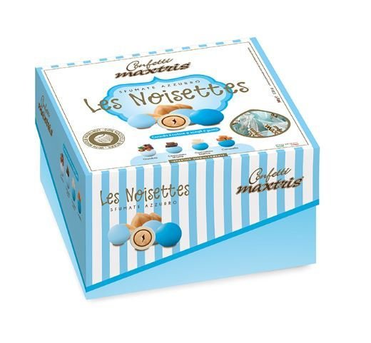 Maxtris Les noisettes sfumate azzurro gr. 500