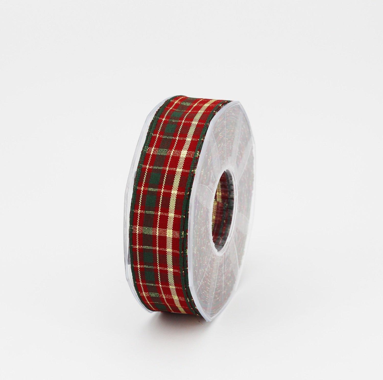 Nastro scozzese lurex mm.25
