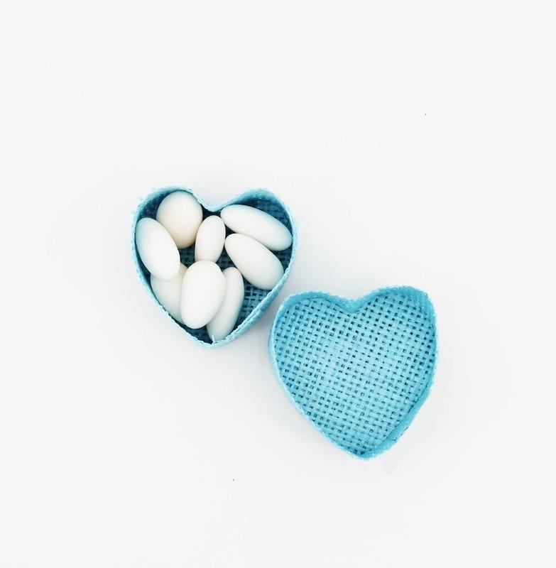 Scatolina cuore portaconfetti Pz. 12