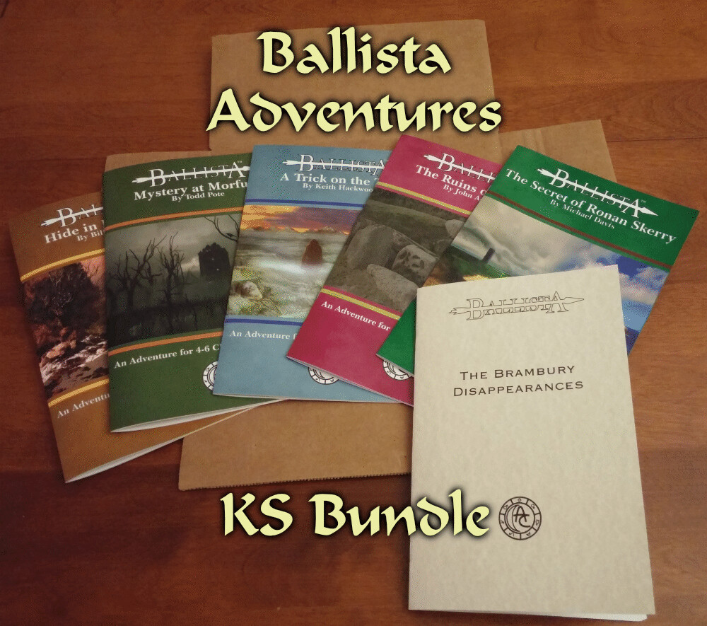 Ballista Adventures KS Special