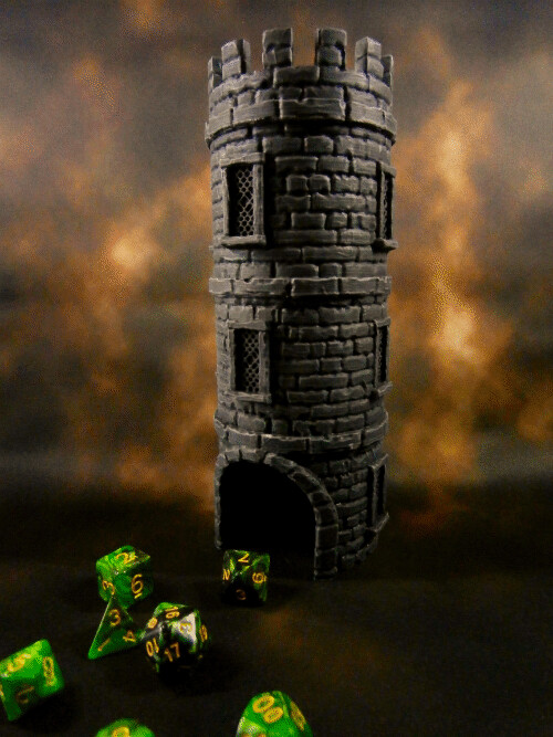 Classic Dice Tower