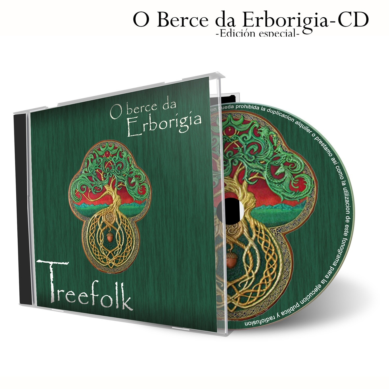 "Primer trabajo discográfico ""O berce da Erborigia"""