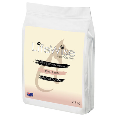 AVAILABLE IN STORE ONLY             LifeWise Tone and Trim Adult Dog
