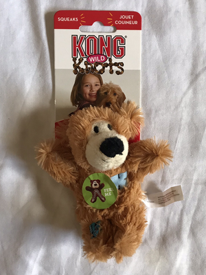 Kong wild knots bear xsmall