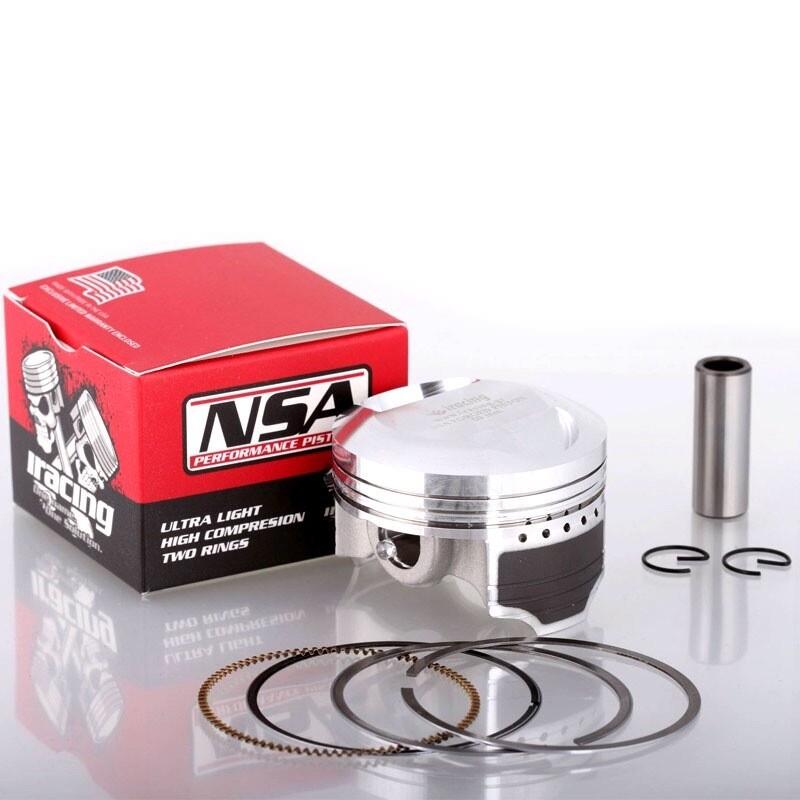 ΠΙΣΤΟΝΙ NSA 59~57~56.00mm ΣΦΥΡΗΛΑΤΟ 13.00Pin Forged Piston High Compression