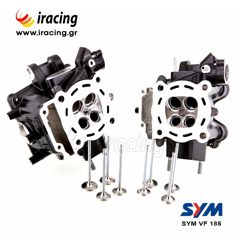 ΚΕΦΑΛΗ SYM VF 185 Racing Cylinderhead Oversize Valves