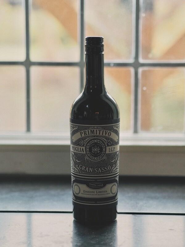 Fles Huiswijn Rood - Gran Sasso Primitivo 75 cl