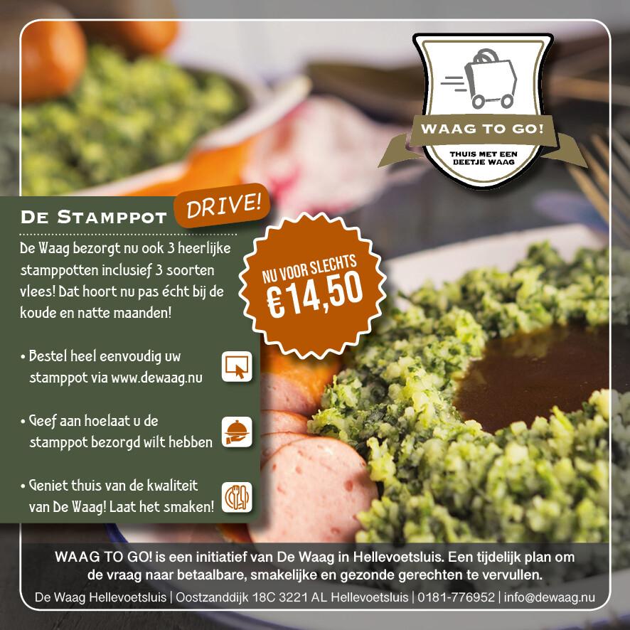 Stamppot Drive Thru (woensdag 13-01-2021)