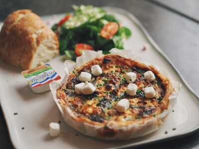 Quiche Spinazie & Feta