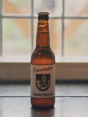 Flesje Ouwetoeter sterk blond Bier 33 cl