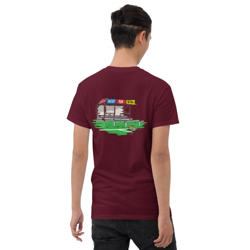 World Soccer Talk (front) & Enjoy Your Football (back) T-Shirt