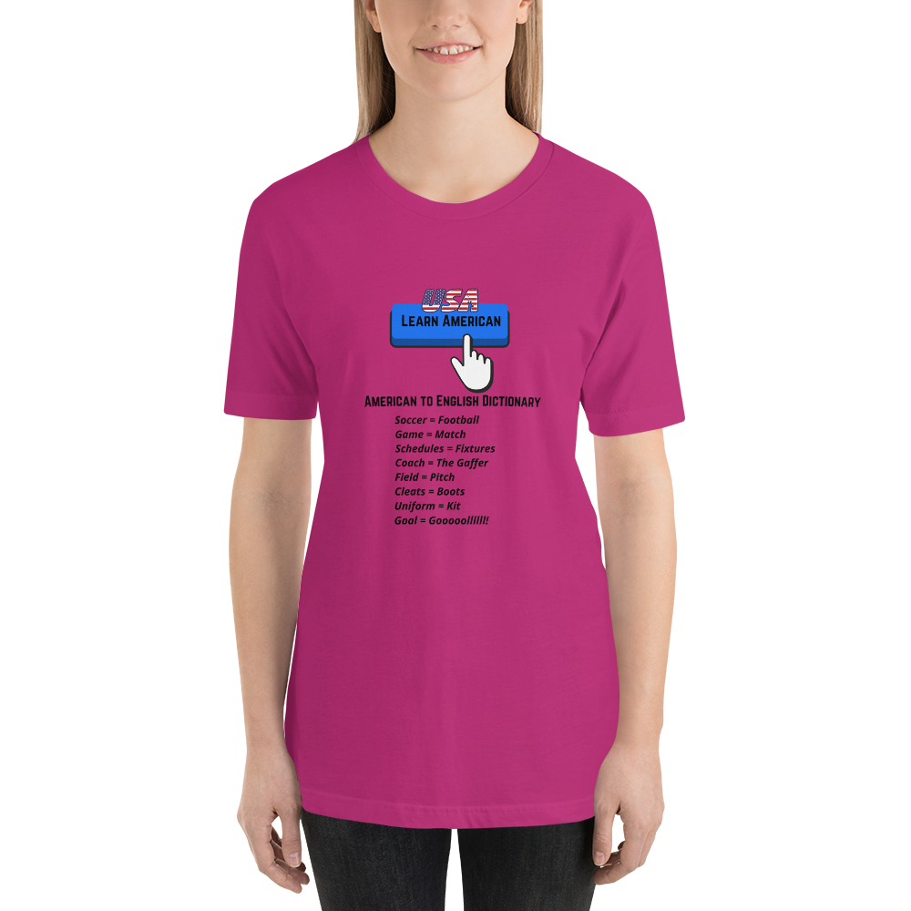 Soccer Language Shirt