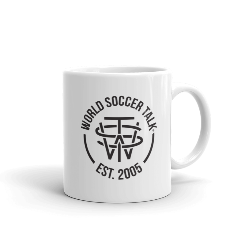 World Soccer Talk Crest in Black