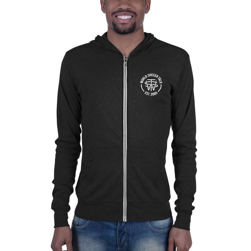 Unisex zip hoodie - WST Crest