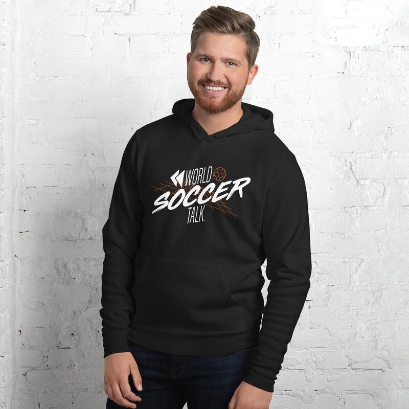 Unisex hoodie - Soccer Grid