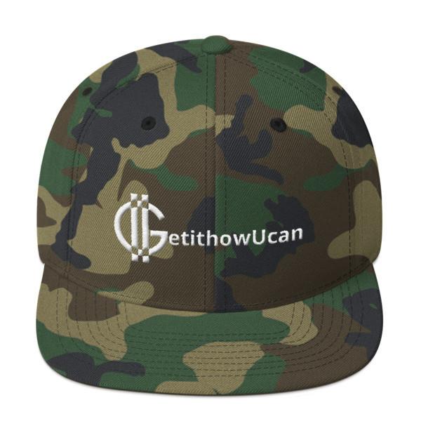 G logo GetithowUcan snap back