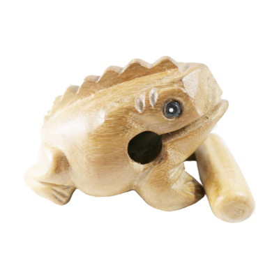 """8"""" Wooden Frog"""