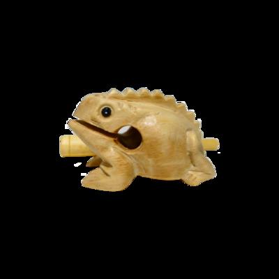 """1.5"""" Wooden Frog"""